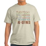 Marriage Re-Defined Light T-Shirt