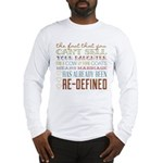 Marriage Re-Defined Long Sleeve T-Shirt