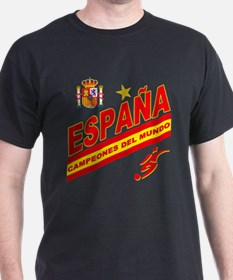 Spain World Cup Soccer T-Shirt