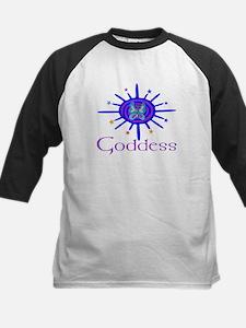 Goddess Sun And Stars Kids Baseball Jersey