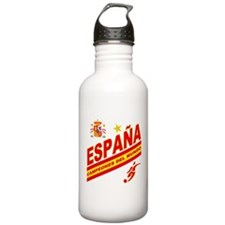 Spain World Cup Soccer Water Bottle