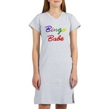 Bingo Babe Women's Nightshirt