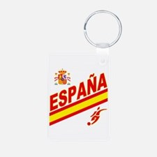Spain World Cup Soccer Keychains