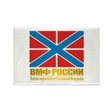 Russian Navy Jack Rectangle Magnet
