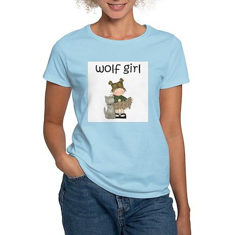 Wolf Girl Women's Shirt - Light