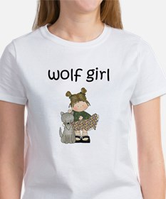 Wolf Girl Women's Shirt