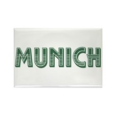 Munich Germany Rectangle Magnet
