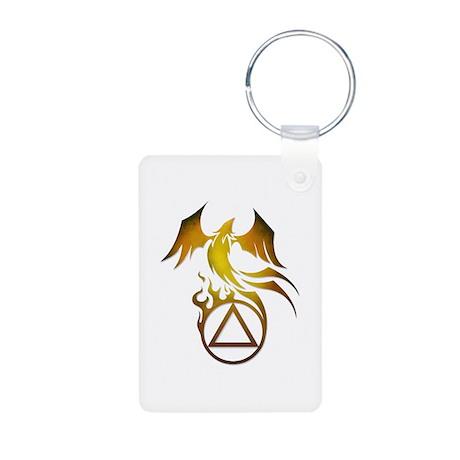 A.A. Logo Phoenix - Aluminum Photo Keychain