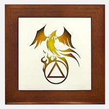 A.A. Logo Phoenix - Framed Tile