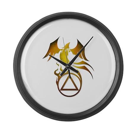 A.A. Logo Phoenix - Large Wall Clock