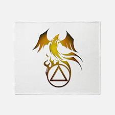 A.A. Logo Phoenix - Throw Blanket