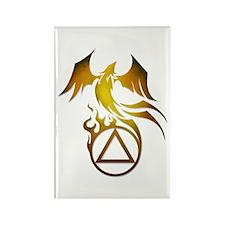 A.A. Logo Phoenix - Rectangle Magnet (10 pack)
