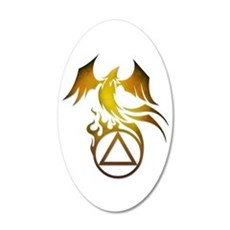 A.A. Logo Phoenix - Wall Decal