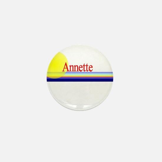 Annette Mini Button