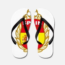 Spain World Cup Soccer Flip Flops