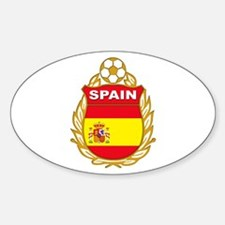 Spain World Cup Soccer Decal