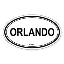 Orlando (Florida) Oval Decal