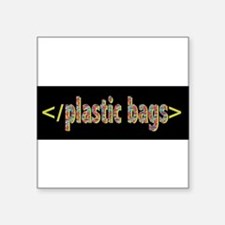 plastic bags Sticker