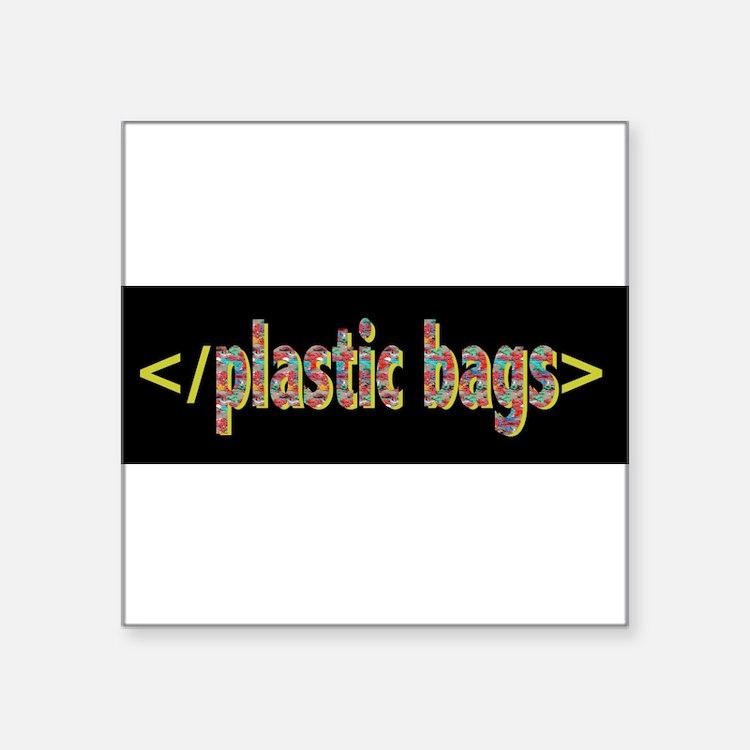 plastic bags Sticker