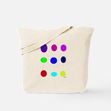 Colored Eggs Tote Bag