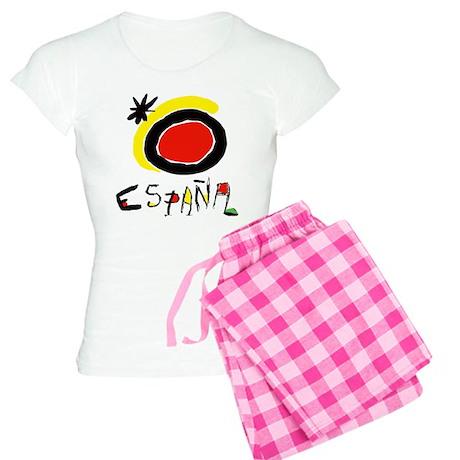 Spain World Cup Soccer Women's Light Pajamas