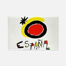 Spain World Cup Soccer Rectangle Magnet