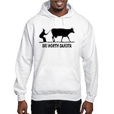 Ski North Dakota Hoodie