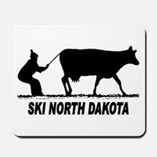 Ski North Dakota Mousepad