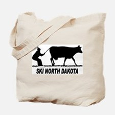 Ski North Dakota Tote Bag
