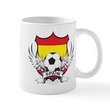 Spain World Cup Soccer Small Mug