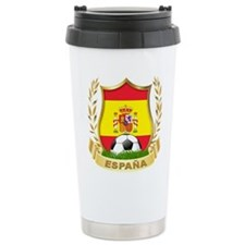 Spain World Cup Soccer Travel Mug