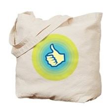Retro Thumbs Up Tote Bag