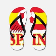 Spain World Cup Soccer Flip Flops
