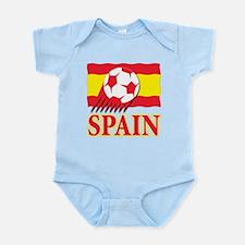 Spain World Cup Soccer Infant Bodysuit