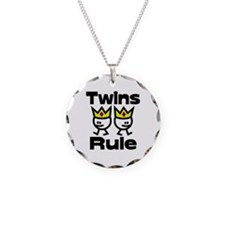 Twins Rule.PNG Necklace