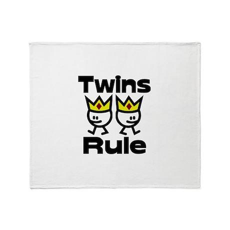 Twins Rule.PNG Throw Blanket
