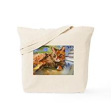 King Tabby Tote Bag