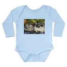 Relaxed Cat Long Sleeve Infant Bodysuit
