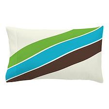Retro 1970s Supergraphics Style Pillow Case