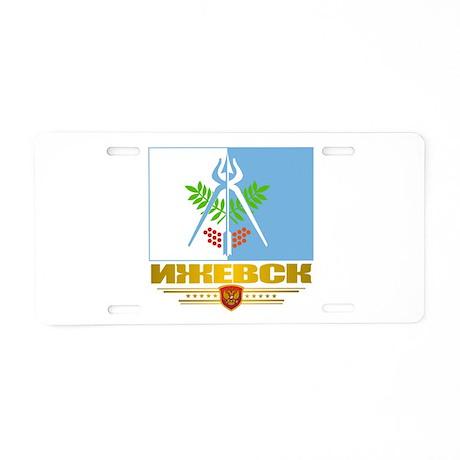 Izhevsk Flag Aluminum License Plate
