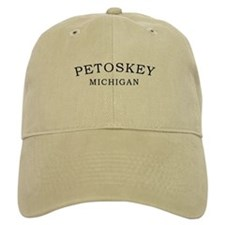 Petoskey Michigan Baseball Cap
