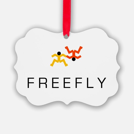 Freefly Skydiver Christmas Ornament