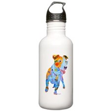 Jack Russell Terrier Many Colors Water Bottle