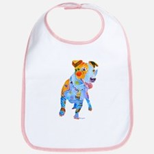 Jack Russell Terrier Many Colors Bib