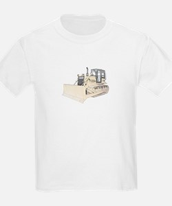 Bulldozer in color T-Shirt