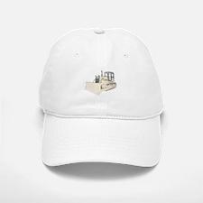 Bulldozer in color Baseball Baseball Cap