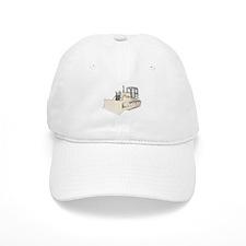 Bulldozer in color Baseball Cap