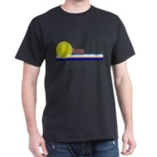 Anya Black T-Shirt
