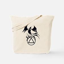 A.A. Logo Phoenix B&W - Tote Bag