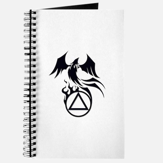 A.A. Logo Phoenix B&W - Journal